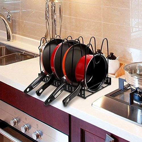 Kitchen Pot And Pan Organizer Rack