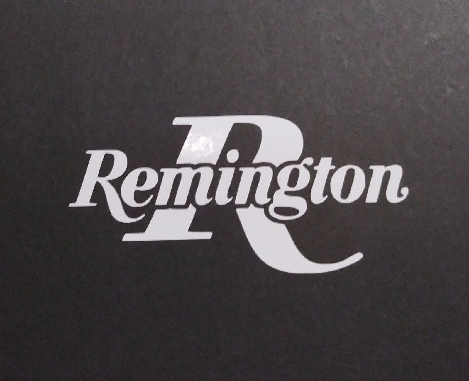 Remington Vinyl Decal for laptop windows wall car boat a