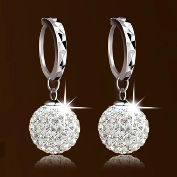 Sterling, Stud, DIAMOND, 925 sterling silver