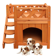 petdoghouse, dogkennel, petwoodenhouse, Pet Bed