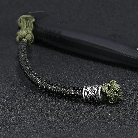 Mini Celtic Slammer décoratif Paracord Lanyard Keychain