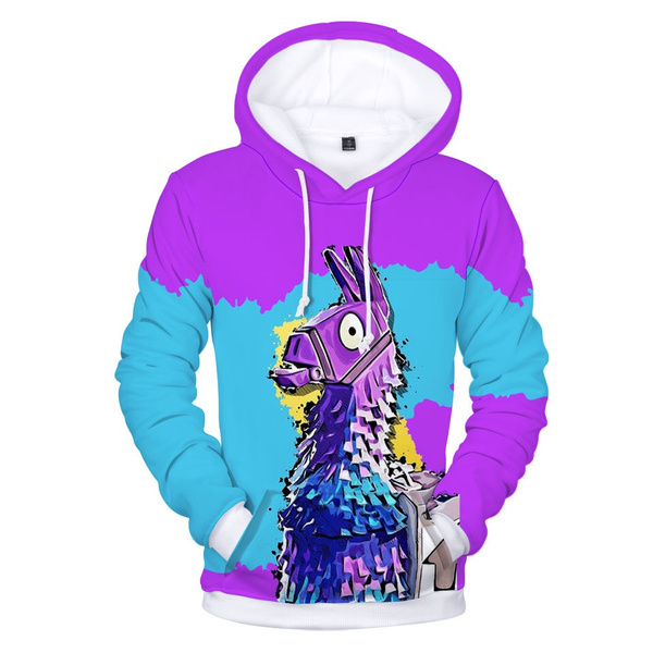3d Fortnite Hoodies Polluvers Men Women Funny With Hat 3d Print Fashion Hip Hop Male Autumn Winter Thick Warm Hooded Sweatshirt