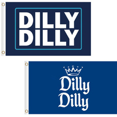 Blues, Polyester, dillydilly, slogan