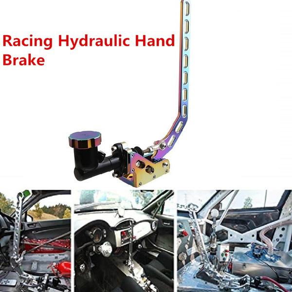 CAR HYDRAULIC HORIZONTAL RACING DRIFT RALLY HAND E-BRAKE PARKING HANDBRAKE LEVER