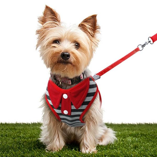 Wish Bowknot Cat Harness And Leash Cute Dog Harness Vest Kitten