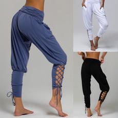 harem, yoga pants, Yoga, Encaje