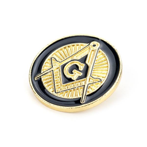 masonic, Jewelry, gold, lapel