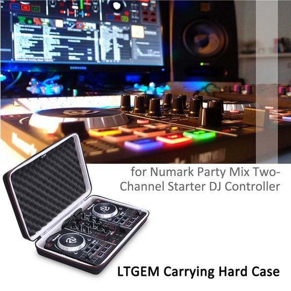 LTGEM EVA Hard Case for Numark Party Mix | Starter DJ Controller - Travel  Protective Carrying Storage Bag - Case Only