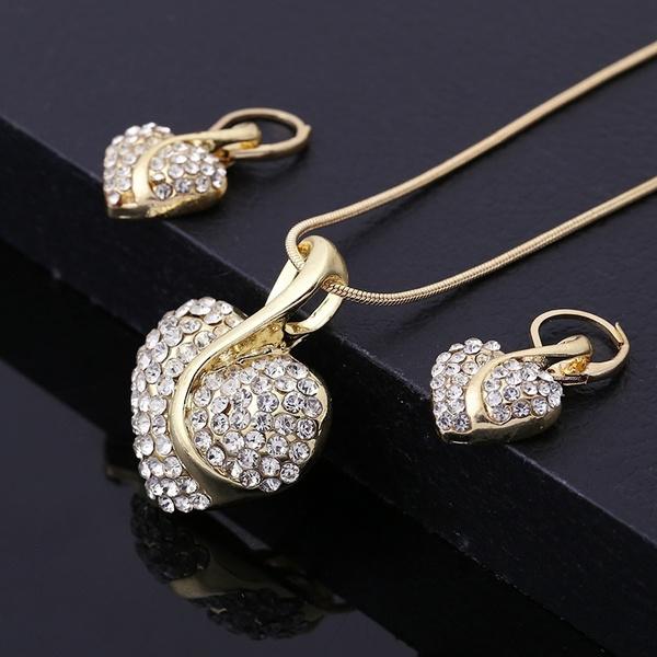 345f485e5 Elegant Vintage Fashion Cubic Zirconia Party Wedding Sapphire Gold ...