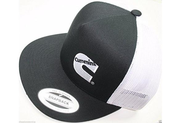9d945793d14bc Dodge Cummins trucker mesh summer cummings hat ball cap flat bill snap back  base