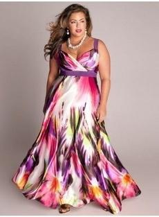Fashion Accessory, Plus Size, high waist, long dress