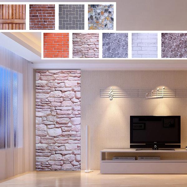 bricksticker, PVC wall stickers, diyhomedecor, Home & Living