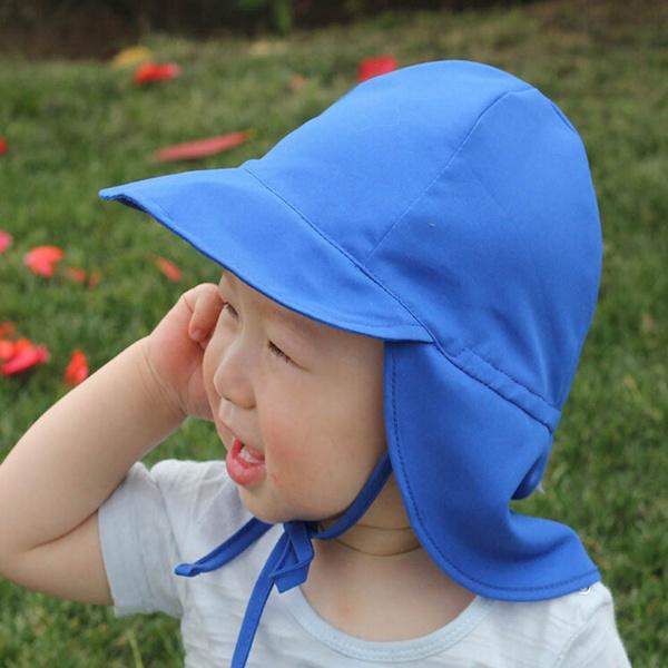 cc7bec382 Unisex Kids Boys Baby Summer Beach Cap UV Protection Brim Bucket Hat Hats  Sun Hat Caps
