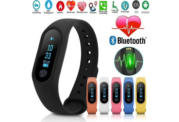 DX Sport Step Counter Mi Band 2 Smart Bracelet Wristband Heart Rate Sleep  Monitor OLED Touchpad Xiaomi Band 2