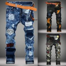 men's jeans, trousers, Casual pants, jeansformen