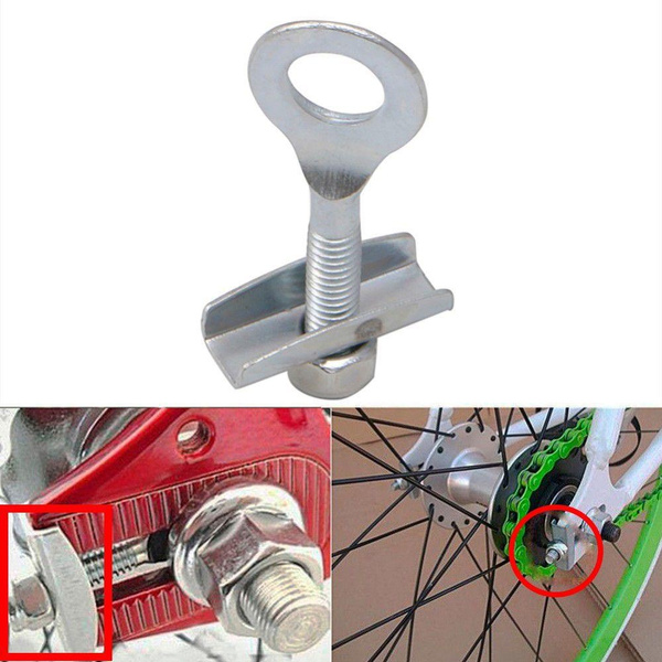 Track Bike Chain Adjusters Tensioner BMX Fixed Gear Bicycle Accessories S