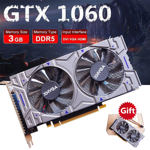 Colorful iGame GTX1060 3G GTX1050 2G Video Graphics Card Boost 3400MHz  192Bit GDDR5 GTX 1060 HDMI+VGA+DVI Gaming Card For PUBG