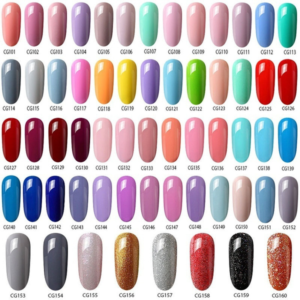 Wish | 120 Colors 12ml/Bottle Azure Beauty Soak Off UV Gel Polish ...