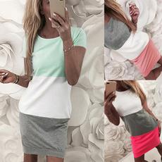 Mini, Summer, dressesforwomen, short dress