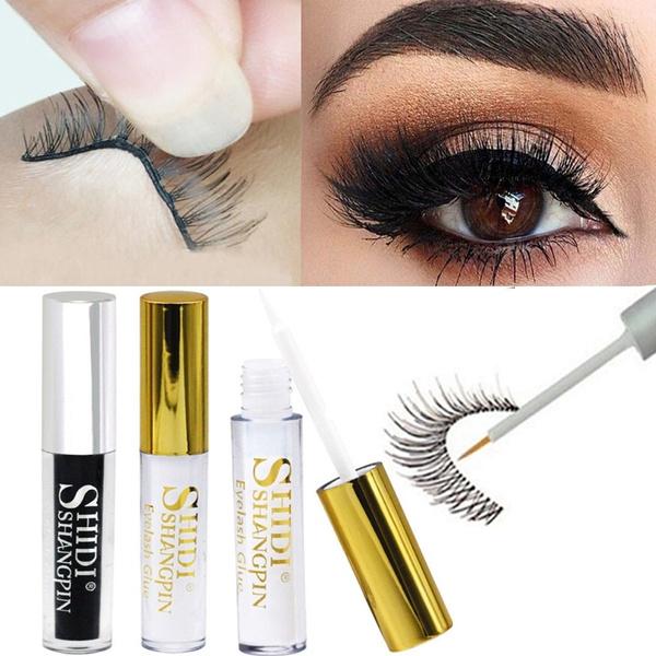 1 Piece Women Black White False Eyelash Glue Double Eyelid Adhesive Glue  Eye Makeup Tool