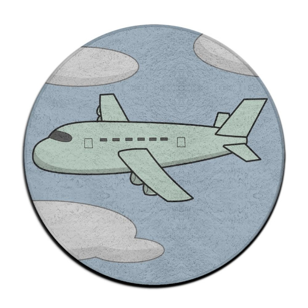 Yiot Vintage Airplane Design Ultra Soft