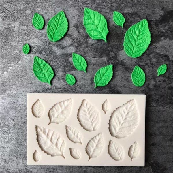 decoration, leaf, siliconecakemold, chocolatemold