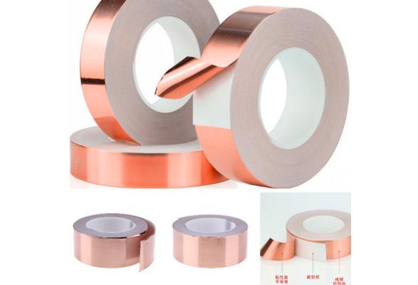 30 Meters Single Side Conductive Copper Foil Tape Strip Adhesive Resist Tape KC