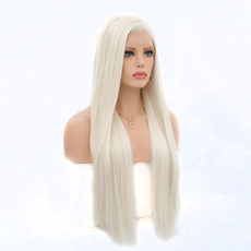 wig, syntheticlacefrontwigswithbang, Lace, syntheticlacefront