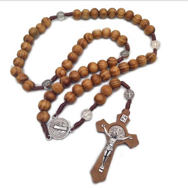 rosarybead, rosary, christ, Wooden