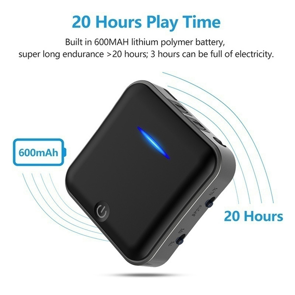Bluetooth 5.0 Transmitter Receiver Digital Optical 3.5mm Wireless Audio Adapter