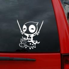 Car Sticker, Deadpool, Get, Wall