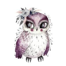 Beautiful, Owl, Applique, bagpatch