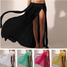 Sexy Beach Wear, Irregular, beachskirt, Skirts