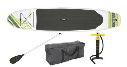 Inflatable, supwatersportsoutdoorrecreation, Green, blowupplankwithoar