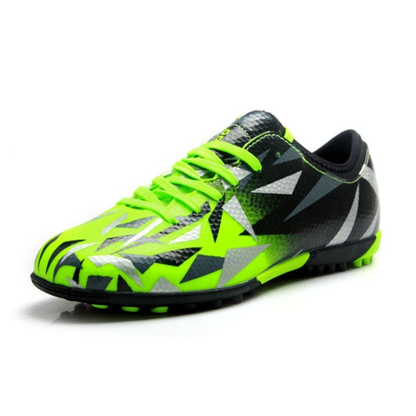 0cd1f337f TIEBAO Soccer Shoes TF Turf Soles Breathable Outdoor Sneakers for ...