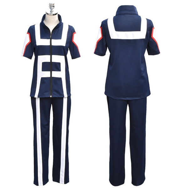 Jp Anime Boku No Hero Bakugou Katsuki Iida Tenya Todoroki Shouto Cosplay Costume My Hero Academia Sportswear Tops Pants