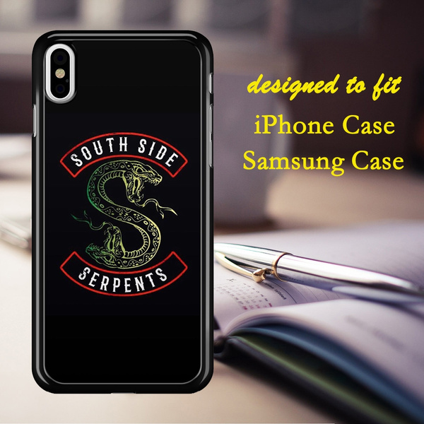 Southside Serpents Jughead Jones Riverdale Tv Show Series Phone Case Cover  For IPhone 4 4S 5 5C 5S 6 6S 6Plus 6SPlus 7 7Plus 8 8Plus X & Samsung