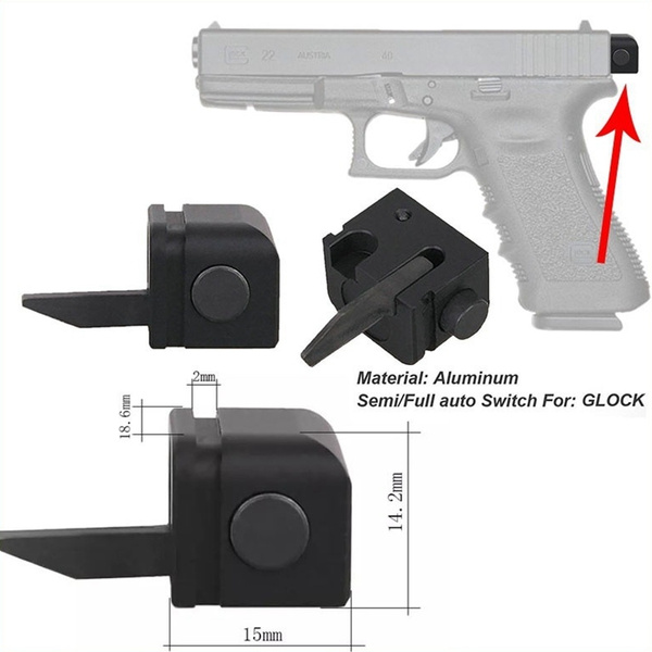 Airsoft Pistol Accessory Full Switch for Glock Automatic Pistol Accessories