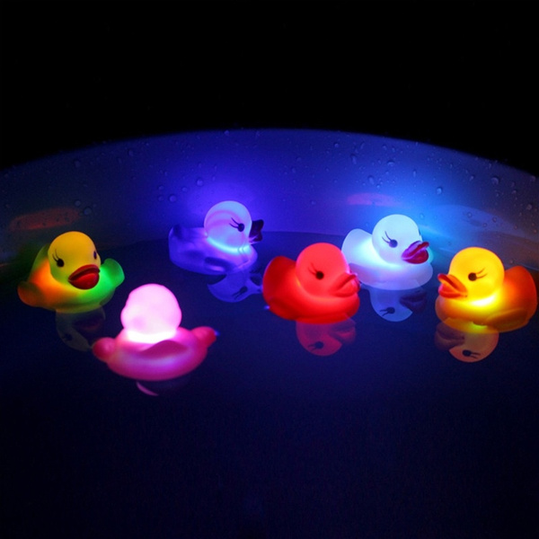 lights, led, showertoy, ducktoy