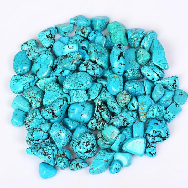 tumbled, decoration, Turquoise, Crystal Jewelry