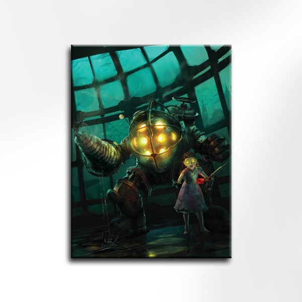 Wish   UNFRAMED Action Game Bioshock Canvas Painting For Room Decor HD  Video Game Bioshock Poster For Home Decor