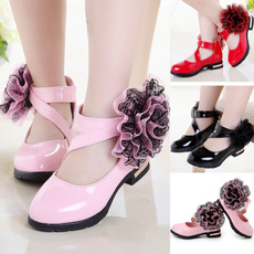Sandals, Princess, Single shoes, Flowers
