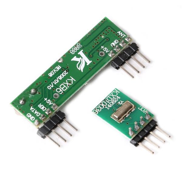 433Mhz Superheterodyne 3400 RF Transmitter Receiver kits for Arduino//ARM//MCU