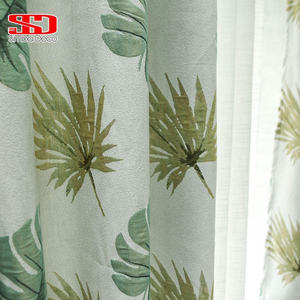 Olive Branch Design Curtain