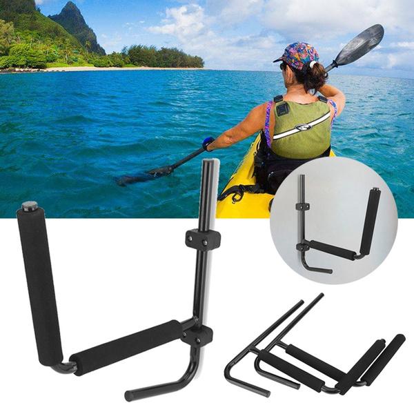 Kayak Rack Canoe Carrier Wall Bracket Paddle Storage Holder Fitting Accessories