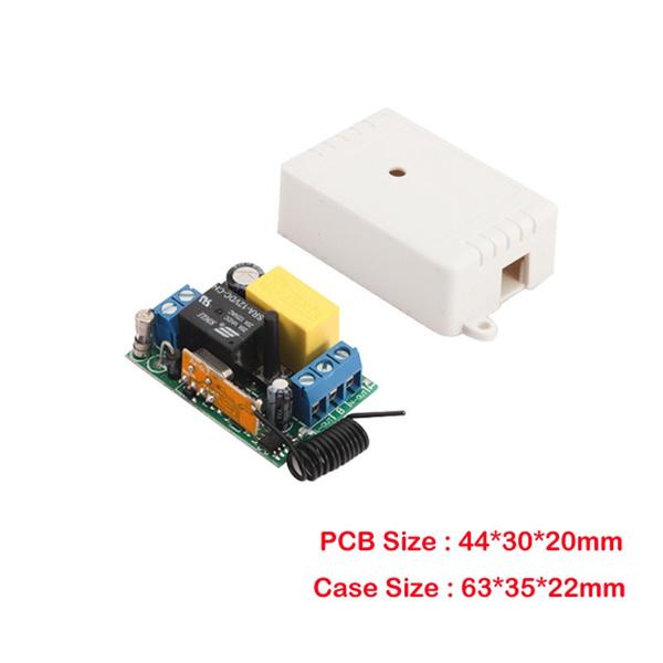 Wish | AC220V Wireless Remote Control Switch Long Range