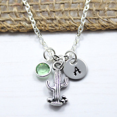 Chain Necklace, Jewelry, initial, Customized