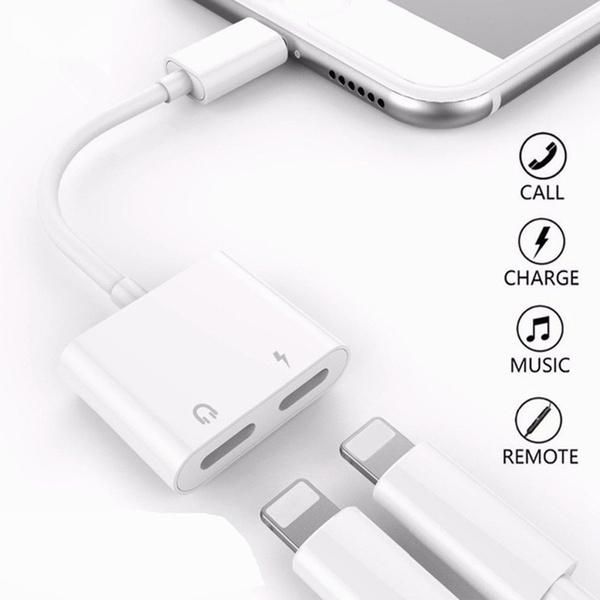 Splitter, iphone adapter, Iphone 4, iphonecablesampadapter