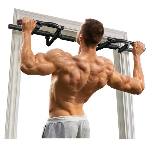 Onetwofit Home Doorway Pull Up Bar Gym Chin Up Bar Multi Grip Ppper