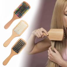 massagehairbrush, Gift For Girl, woodpaddlehairbrush, hair